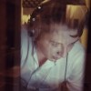 John newman in the Sanctuary Vocal Booth